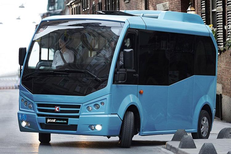 اتوبوس برقی کارسان ترکیه با موتور بی ام و i3 رونمایی شد