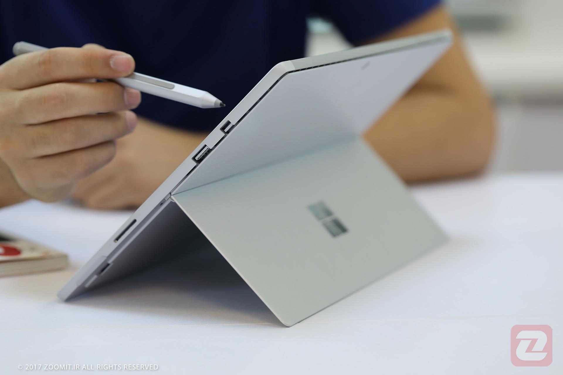 پتنت جدید مایکروسافت خبر از طراحی سرفیس پرو با کیبورد باریکتر میدهد