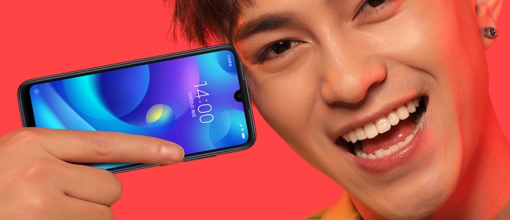 شیائومی گوشی پلی با بریدگی بالای نمایشگر قطره ای شکل را معرفی میکند