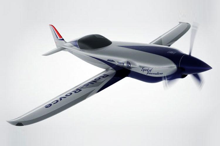 ساخت سریع ترین هواپیمای الکتریکی جهان توسط رولز رویس