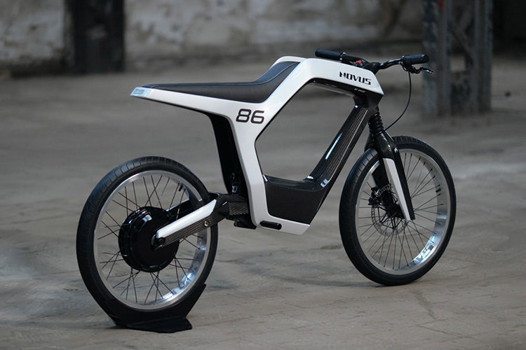 موتورسیکلت برقی Novus معرفی شد