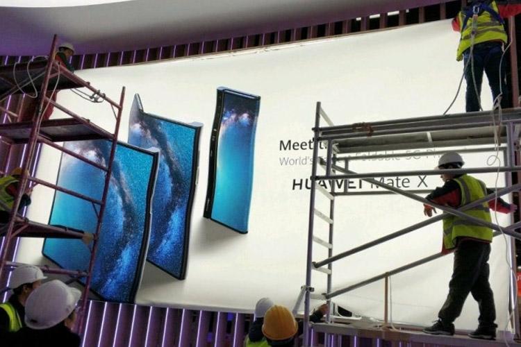 میت ایکس 5G، گوشی تاشدنی هواوی در MWC 2019 فاش شد