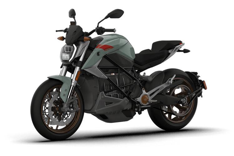 موتورسیکلت برقی و اسپرت Zero SR/F معرفی شد