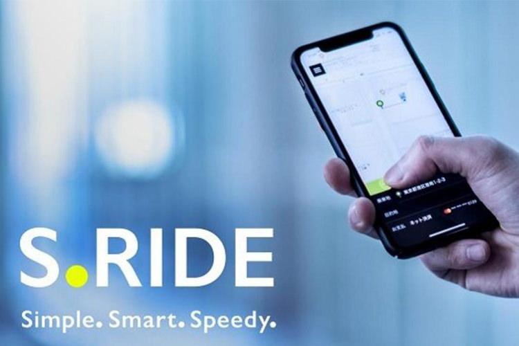 سونی اپلیکشن درخواست تاکسی آنلاین S.Ride را برای کاربران ژاپنی معرفی کرد