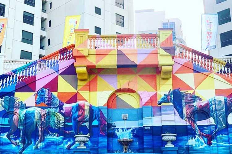 ۲۴ ساعت گردش در دبی برای افرادی که عاشق هنر هستند