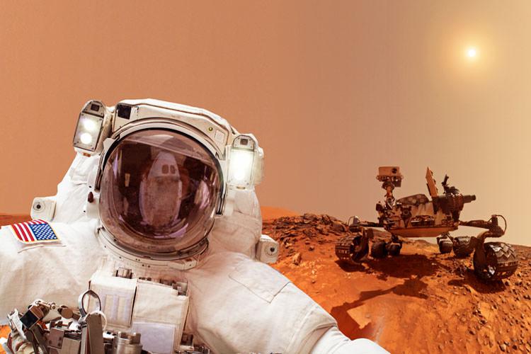 انسان یا ربات؛ ارزش کدامیک برای سفر به مریخ بیشتر است؟
