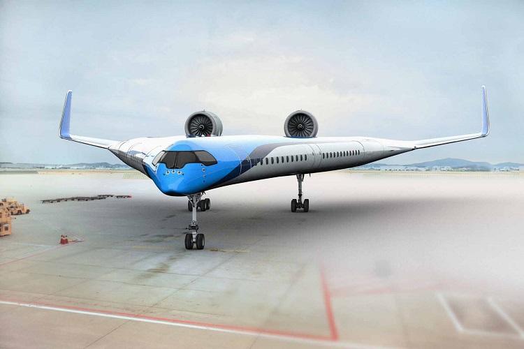 حمایت مالی شرکت هواپیمایی KLM از ساخت هواپیمای V شکل