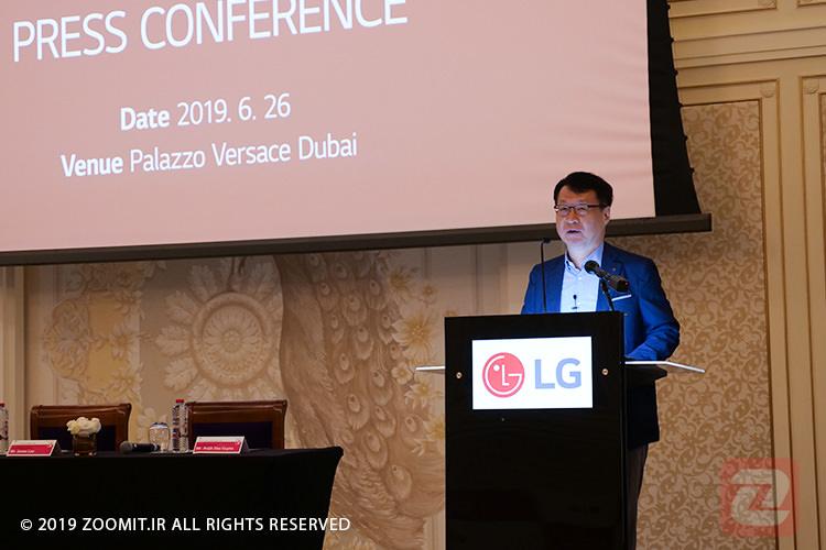 مدیرعامل خاورمیانه ال جی: به حضور پررنگ خود در بازار ایران ادامه میدهیم