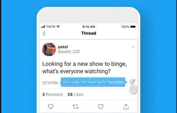 توییتر مشغول تست قابلیتی برای پنهان سازی پاسخ های آزاردهنده است