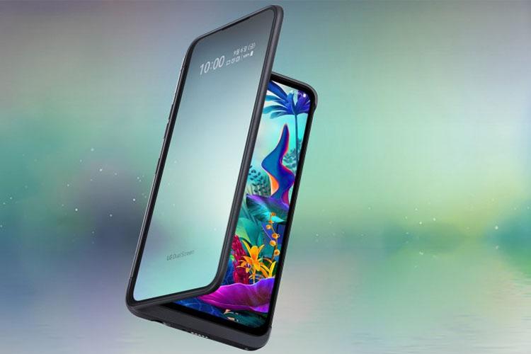 V50S ThinQ، نسخه 5G گوشی G8X ThinQ ال جی، معرفی شد